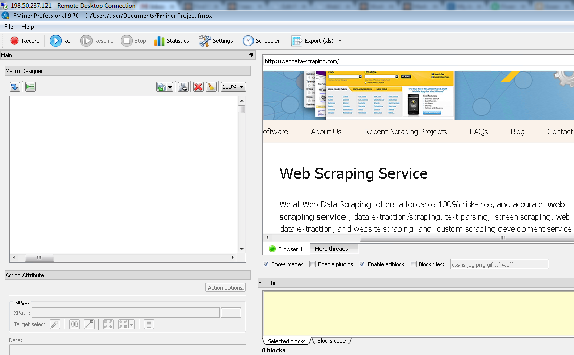 Fminer-Web-Scraping-Software