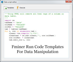 Fminer-Run-Code-Template-Scraping-Tool